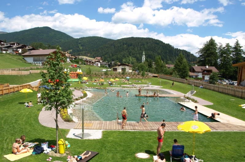 Swimming pools in San Candido and Monguelfo
