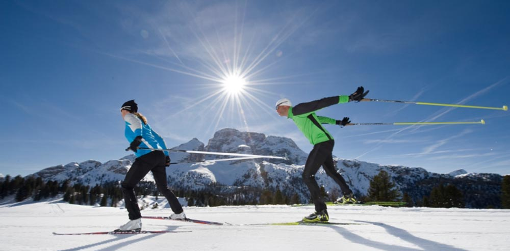 Cross-country skiing at Braies and in Alta Pusteria